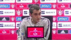 """Valverde: """"No pienso en si me estoy jugando el puesto, sólo en ganar"""""""