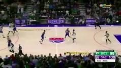 El final más cruel para los Celtics: rebota tres veces en el aro... y se sale