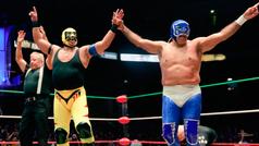 Blue Panther vence a Máscara Año 2000 en su 40 años de trayectoria