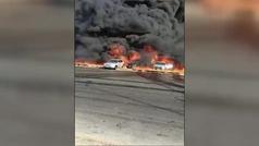 Parece el infierno: una explosión en El Cairo deja al menos 17 heridos