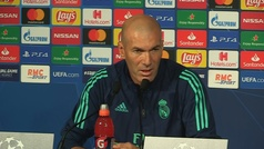 """Zidane: """"¿BBH? Suena bien, muy bueno, veremos mañana si juegan"""""""