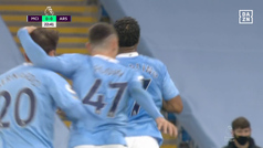 Premier League (J5): Resumen y gol del Manchester City 1-0 Arsenal