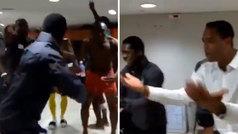 Seedorf y Kluivert, desatados en el vestuario de Camerún tras lograr el billete para la CAF 2019
