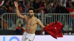 """Salah decide el Egipto-Túnez en el 90' y el locutor enloquece: """"¡¡Salah superman!!"""""""