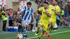 LaLiga (J1): Resumen y goles del Villarreal 1-2 Real Sociedad
