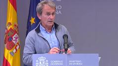 """Fernando Simón: """"No me consta que lo datos de la Comunidad de Madrid sean falsos"""""""
