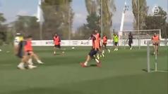 El Real Madrid empieza a preparar el partido contra el Valencia