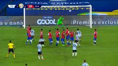 Vidal y Vargas anulan la genialidad de Messi