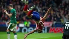 Champions League (Grupo D): Resumen y goles del Atlético 2-0 Lokomotiv