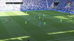 Gol de Sergio García (1-0) en el Espanyol 1-0 Levante