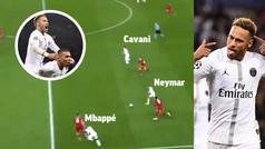 Gol de Neymar (2-0) en el PSG 2-1 Liverpool