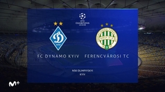 Champions League (J6): Resumen y goles del Dinamo Kiev 1-0 Ferencvaros