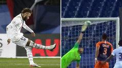 Neymar tiene la pólvora intacta tras la lesión: ¡golazo imparable de libre directo!