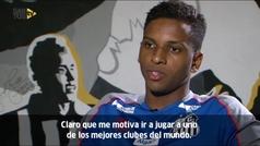 """Rodrygo se despide del Santos: """"Me asusta ir al Madrid, pero el miedo es bueno"""""""