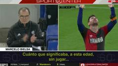 Sale a la luz un audio de Bielsa recordando a Maradona... y refiriéndose a Messi