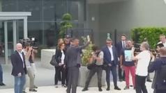 Cristiano Ronaldo ya está en el Allianz Stadium de Turín