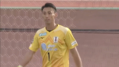 MX:Un portero recibe dos goles desde media cancha ¡en dos minutos!