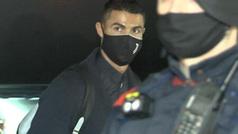 Cristiano Ronaldo llega con la Juventus a Barcelona