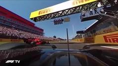El accidente entre Hamilton y Verstappen desde las cámaras de 360º
