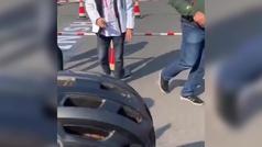 Contador y Schleck reeditan sus grandes duelos con minibicis... ¡y el ganador es el de siempre!