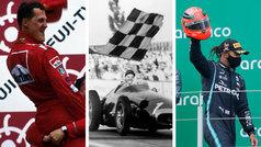 """Jackie Stewart: """"Es muy difícil decir que Hamilton es el mejor de todos los tiempos"""""""