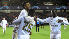 Champions League (Grupo A): Resumen y goles del Brujas 1-3 Real Madrid