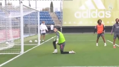 Hazard también se apunta a LaLiga: se ejercita con el grupo en Valdebebas