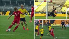 Genial vaselina de videojuego de Kimmich en el Dortmund-Bayern: ¡desde la frontal y cruzadita!