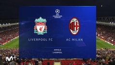 Champions League (J1): resumen y goles del Liverpool 3-2 Milan