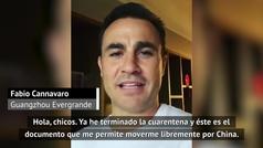 La explicación de Cannavaro desde China que trae esperanza a Europa
