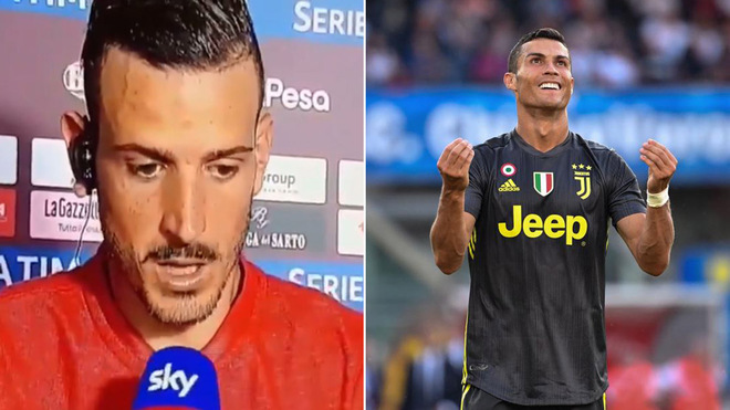 Ronaldo admits overhead kick ovation helped bring him to Juventus