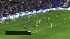 Gol de Morales (p.) (3-0) en el Levante 4-0 Betis