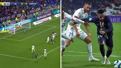 Impresionante gol de Neymar para decidir el Lyon-PSG en el 87'