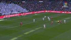 Gol de Stuani (p.) (1-1) en el Real Madrid 1-2 Girona