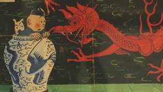La portada original de El Loto Azul de Tintín es subastada por tres millones de euros
