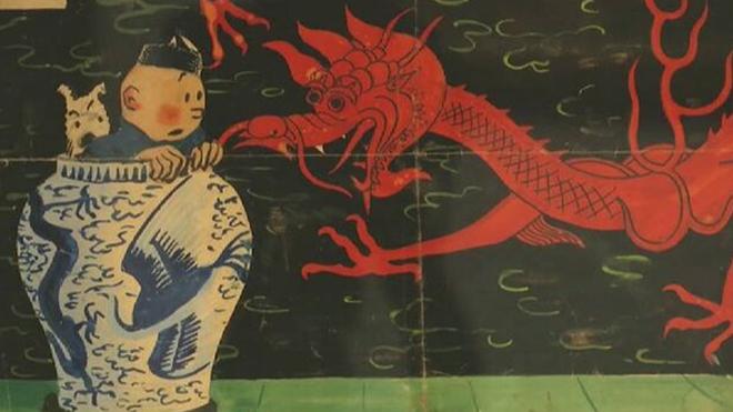 Dibujo de Tintín se vende en subasta por récord de $3.1 mdd