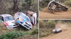 Tan cómico... que pudo ser dramático: ¡5 accidentes en la misma curva en un rally ruso!