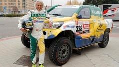 """Jesús Calleja: """"A Laia la veo ganando el Dakar, en coches"""""""
