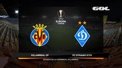 Europa League (octavos, vuelta): Resumen y goles del Villarreal 2-0 Dinamo Kiev