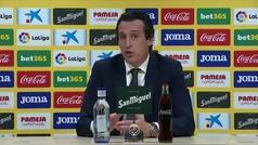 """Emery: """"Creo que hemos merecido ganar"""""""
