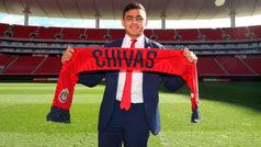 Alexis Vega, nuevo delantero de las Chivas