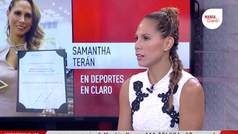 """Samantha Terán: """"Es algo muy especial, significa mucho para mí"""""""