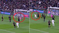 Remate espectacular de Benzema, paradón de Ederson... y Vinícius se resbala cuando estaba solo