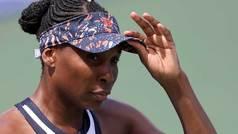 Venus Williams pidió una taza de café en mitad de un partido del Cincinnati Masters