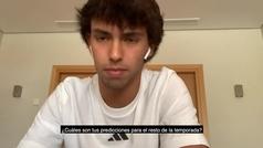 """Joao Félix se moja: """"Los Lakers ganarán el anillo y Doncic será el MVP"""""""