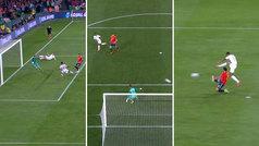 Los tres goles de Inglaterra en 22 minutos que destapan la fragilidad defensiva de España