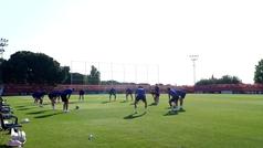 El Atlético cierra la semana con el balón como protagonista
