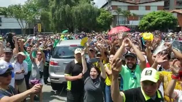 Nairomanía en Tour Colombia
