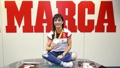 """Sandra Sánchez: """"Dormí con la medalla de oro"""""""