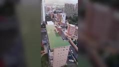 Detenido por disparar desde el balcón durante los aplausos a los sanitarios